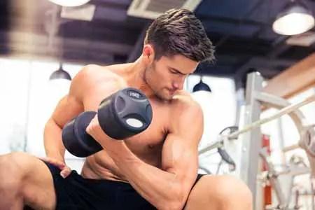 Ejercicios para bíceps - curl concentrado