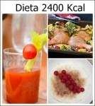 Dieta 2400 Kcal diarias: Beneficios, menú, recetas y tips
