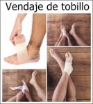 Cómo vendar el tobillo después de una lesión en casa fácilmente.