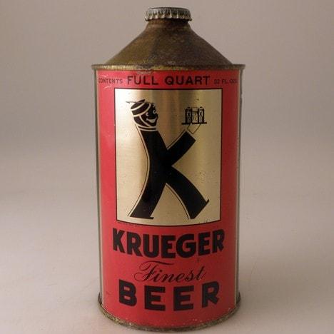 Krueger Finest Beer, primera cerveza enlatada en el mundo