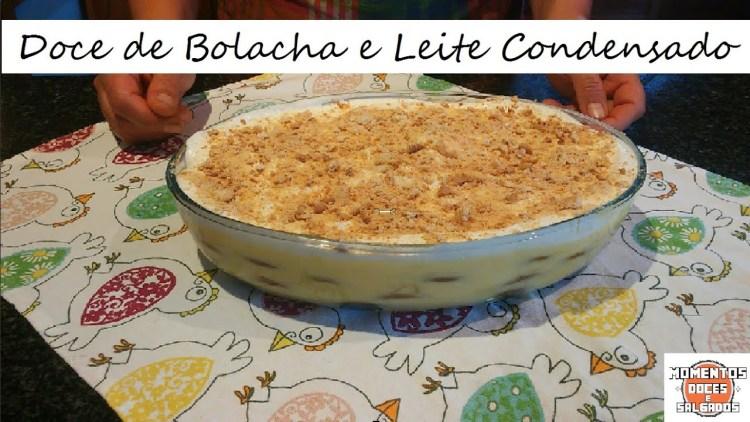 Doce de Bolacha e Leite Condensado | Biscuit Dessert