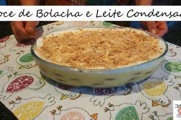 Doce de Bolacha e Leite Condensado   Biscuit Dessert