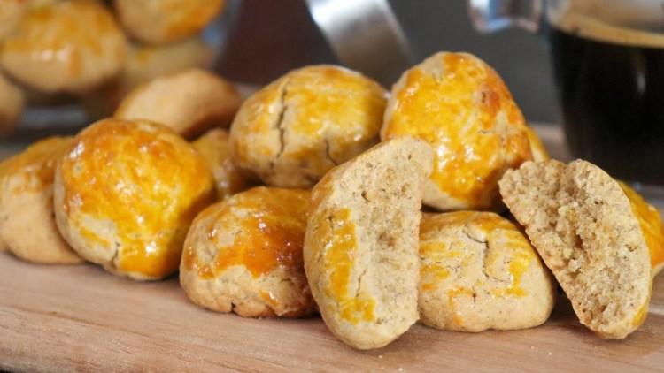 Biscoitos de Azeite e Canela