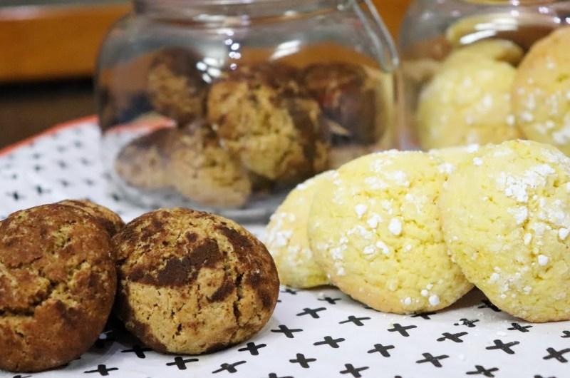 Biscoitos de Limão/Canela