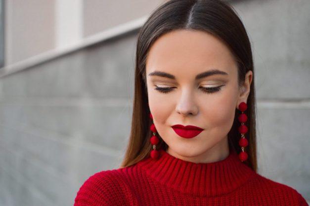 maquillaje emocional rojo