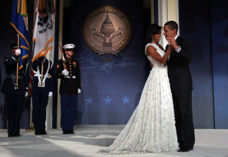 michelle obama fiesta inaugural