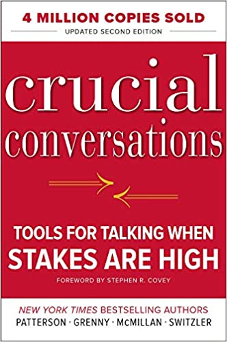 Book Cover of Crucial Conversations