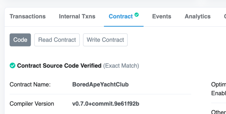Mint an NFTT directly from Smart Contract on Etherscan