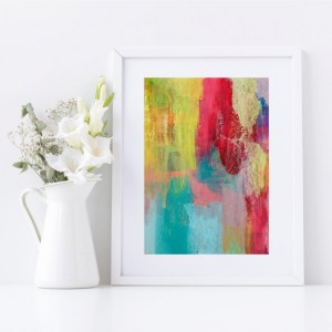 Abstract Fine Art Giclee Print Titled Earthy Soul 2 in Size A4 | By Adelaide Abstract Artist Charlie Albright | Moments by Charlie Blog - Online Shop - Creative Freelance Services | Adelaide, South Australia