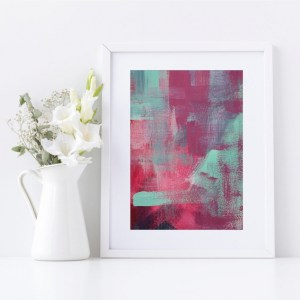 Abstract Fine Art Giclee Print Titled Skater Denim 1 in Size A4 | By Adelaide Abstract Artist Charlie Albright | Moments by Charlie Blog - Online Shop - Creative Freelance Services | Adelaide, South Australia