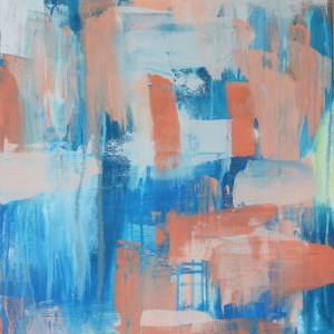 Abstract Acrylic Canvas Art - Ocean by Charlie Albright | Moments by Charlie | Creative Abstract Artist, Photographer and Blogger | Made in Adelaide, Australia