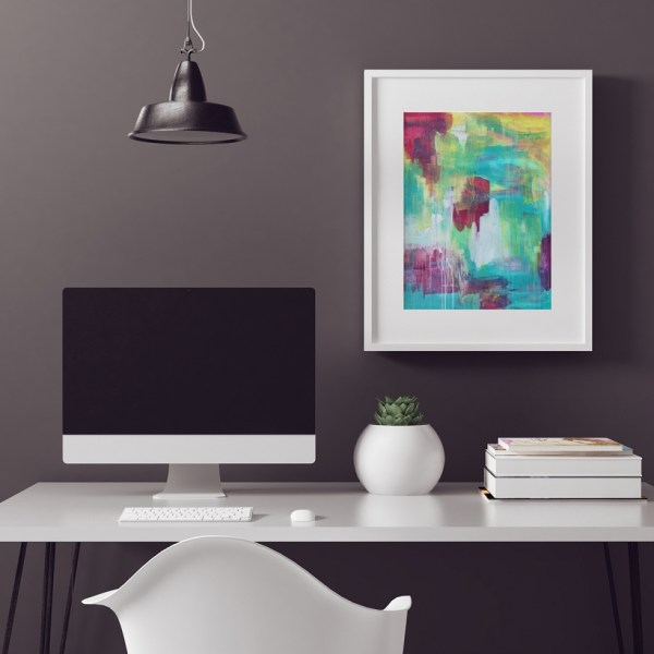 Abstract Fine Art Print - Nightingale by Charlie Albright | Moments by Charlie | Creative Abstract Artist, Photographer and Blogger | Made in Adelaide, Australia