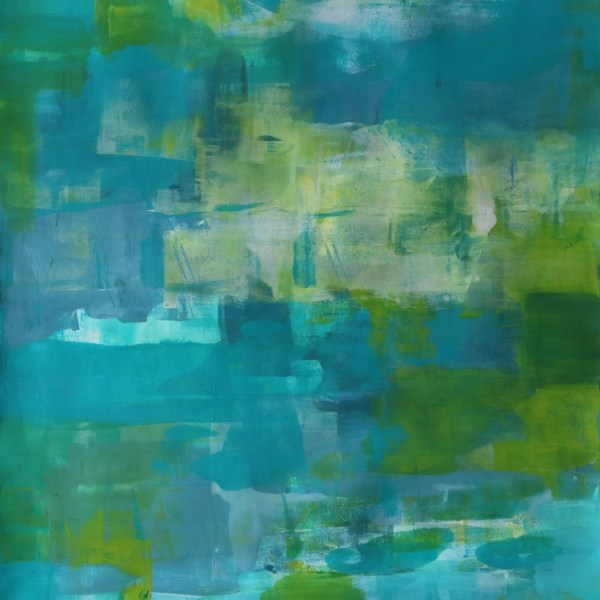 Abstract Acrylic Art On Paper - In The Valley by Charlie Albright | Moments by Charlie | Creative Abstract Artist, Photographer and Blogger | Made in Adelaide, Australia