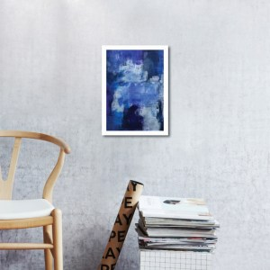 Abstract Acrylic Art On Paper - To The Harbour And Back 1 by Charlie Albright   Moments by Charlie   Creative Abstract Artist, Photographer and Blogger   Made in Adelaide, Australia