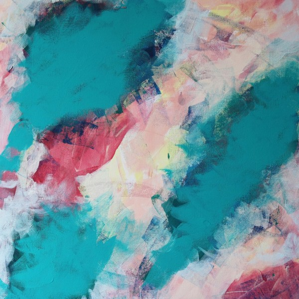Abstract Acrylic Canvas Art - Ebb & Flow 2 - Movement Collection by artist Charlie Albright | Moments by Charlie | Creative Visual Artist, Photographer and Blogger | Made in Adelaide, Australia