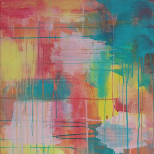 Abstract Acrylic Canvas Art - Wanderer - by Australian abstract artist Charlie Albright   Moments by Charlie   Creative Visual Artist, Photographer and Blogger   Made in Adelaide, Australia