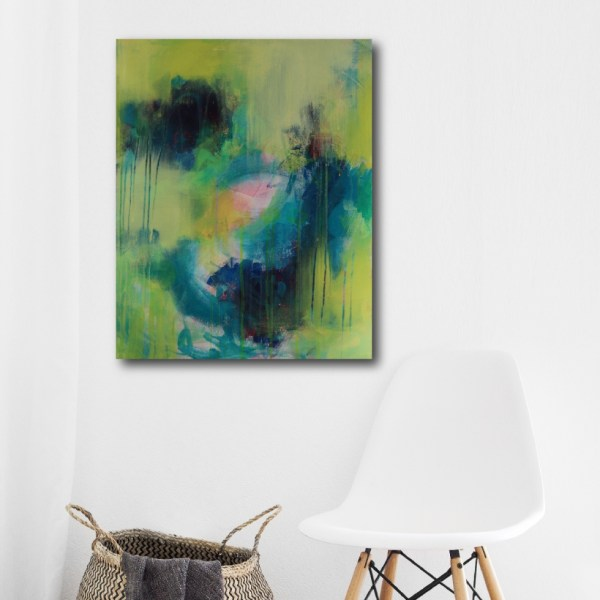 Abstract Art Titled Pursue It With Passion By Creative Visual Artist Charlie Albright | SALA 2018 Collection - Chasing Dancing Colours | Moments by Charlie Online Shop | Adelaide, South Australia