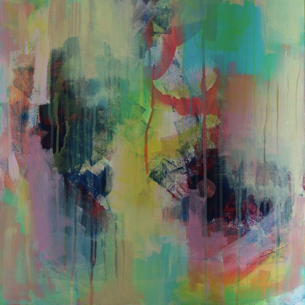 Abstract Art Titled Where You Want To Go By Creative Visual Artist Charlie Albright   SALA 2018 Collection - Chasing Dancing Colours   Moments by Charlie Online Shop   Adelaide, South Australia