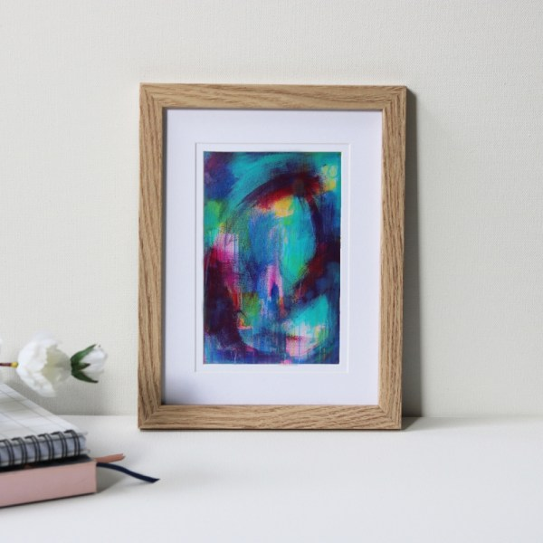 """Framed Art Print Titled Multiple Paths By Creative Visual Artist Charlie Albright 
