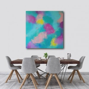 Abstract Canvas Art Titled Bright Flow By Creative Visual Artist Charlie Albright   Moments by Charlie Blog - Online Shop - Creative Freelance Services   Adelaide, South Australia