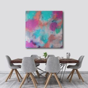 Abstract Canvas Art Titled Three Ways To Wonder By Creative Visual Artist Charlie Albright   Moments by Charlie Blog - Online Shop - Creative Freelance Services   Adelaide, South Australia
