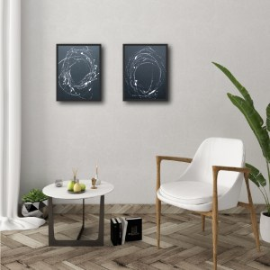 Set of 2 - Minimalism Abstract Framed Art Titled Nested Corner By Creative Visual Artist Charlie Albright | Moments by Charlie Blog - Online Shop - Creative Freelance Services | Adelaide, South Australia