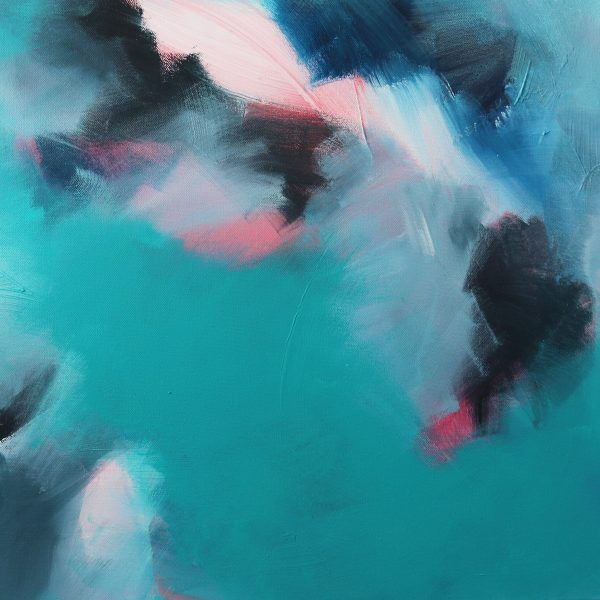 """Abstract Canvas Art Titled Coastal Love By Adelaide Abstract Artist Charlie Albright 