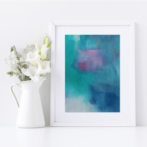 Abstract Fine Art Giclee Print Titled Summer Isabella's Son 3 in Size A4 | By Adelaide Abstract Artist Charlie Albright | Moments by Charlie Blog - Online Shop - Creative Freelance Services | Adelaide, South Australia