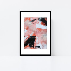 Abstract Art Framed Original On Art Paper Titled In The Shadows 1 | By Adelaide Abstract Artist Charlie Albright | Moments by Charlie Blog - Online Shop - Creative Freelance Services | Adelaide, South Australia