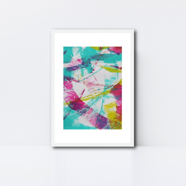 Abstract Art Framed Original On Art Paper Titled Reignite 4   By Adelaide Abstract Artist Charlie Albright   Moments by Charlie Blog - Online Shop - Creative Freelance Services   Adelaide, South Australia
