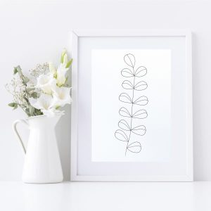 Original Drawing On Paper - Framed Titled You Are Beautiful 3 | By Adelaide Abstract Artist Charlie Albright | Moments by Charlie Blog - Online Shop - Creative Freelance Services | Adelaide, South Australia