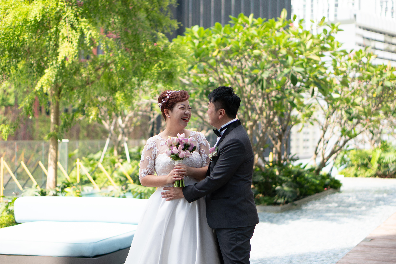 Wedding actual day photoshoot at Sofitel City Centre Hotel at Tanjong Pagar