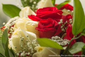 Close up of bride's bouquet good