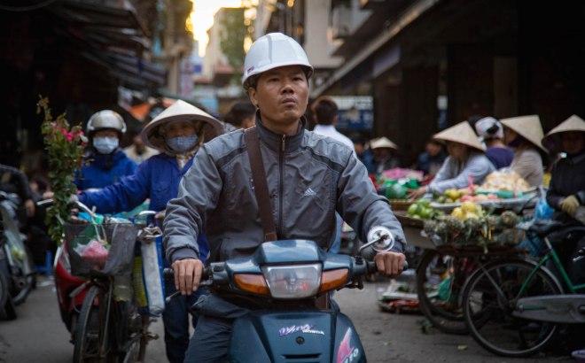 Hanoi-Dong Xuan Market3