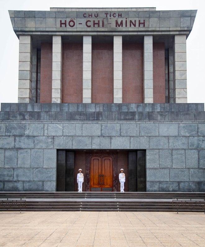 Hanoi-Ho Chi Minh Mausoleum