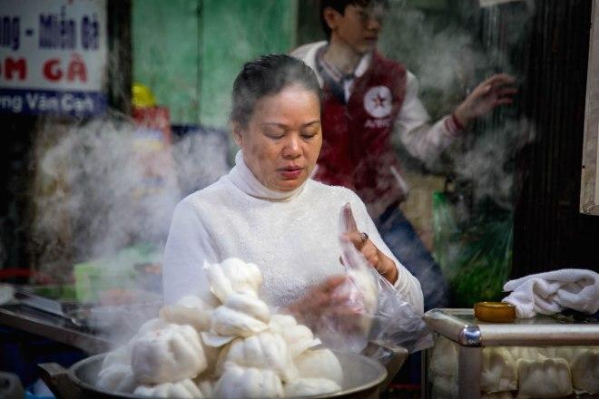 Hanoi-moments of yugen-Vietnamese woman
