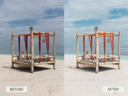 Before and after-Summer-07