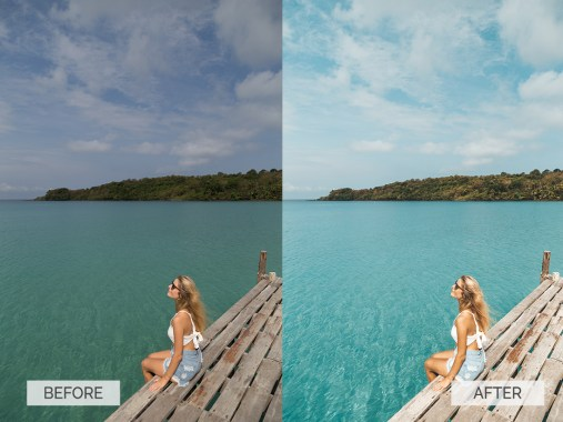 Before and after-Summer-10