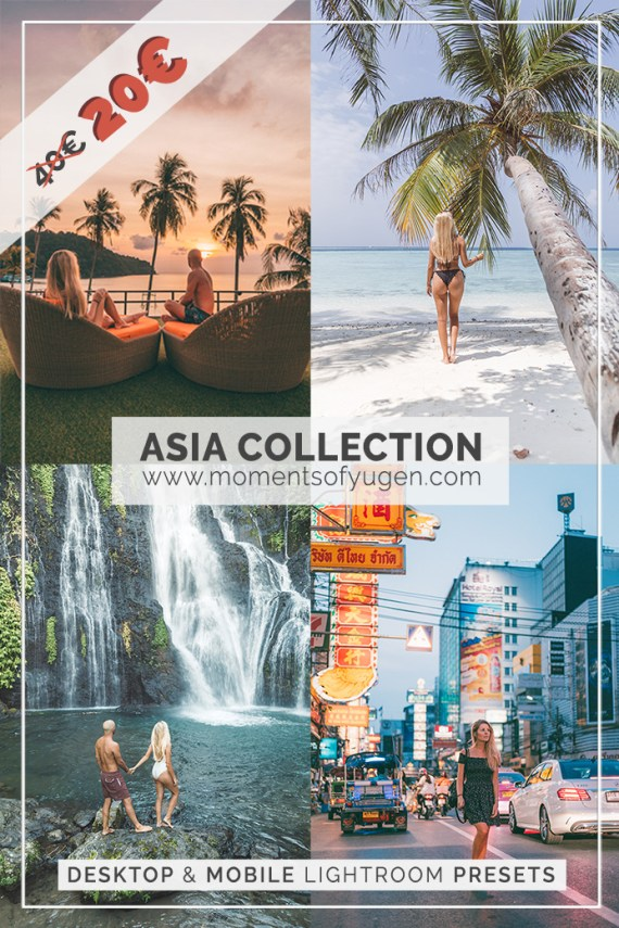 Asia Collection Lightroom Presets