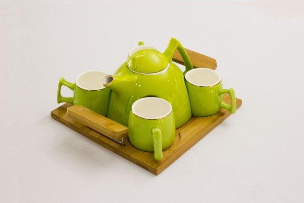 Contemporary Tea Pot Set 1