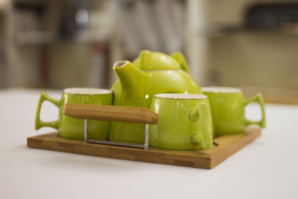 Contemporary Tea Pot Set 2