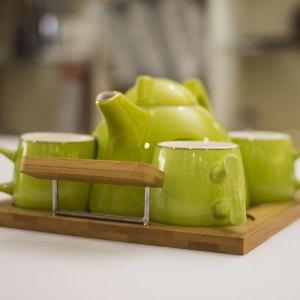 Contemporary Tea Pot Set 3