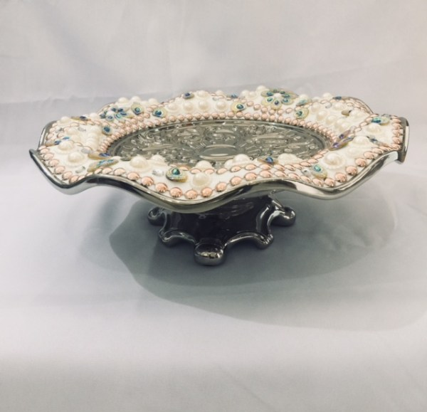 Decorative Plate with Folded Edge 1