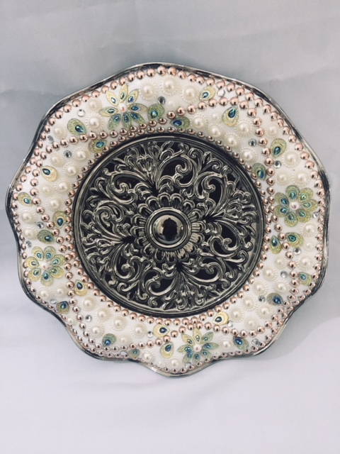Decorative Plate with Folded Edge 2
