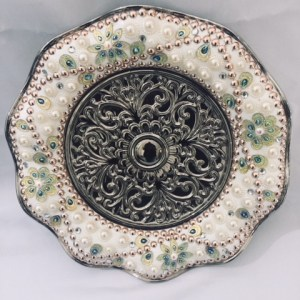Decorative Plate with Folded Edge 3