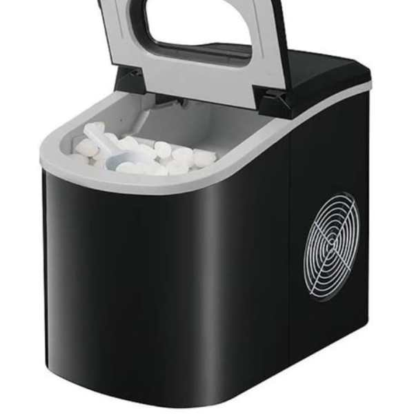 Black Stainless Steel Ice Maker 1