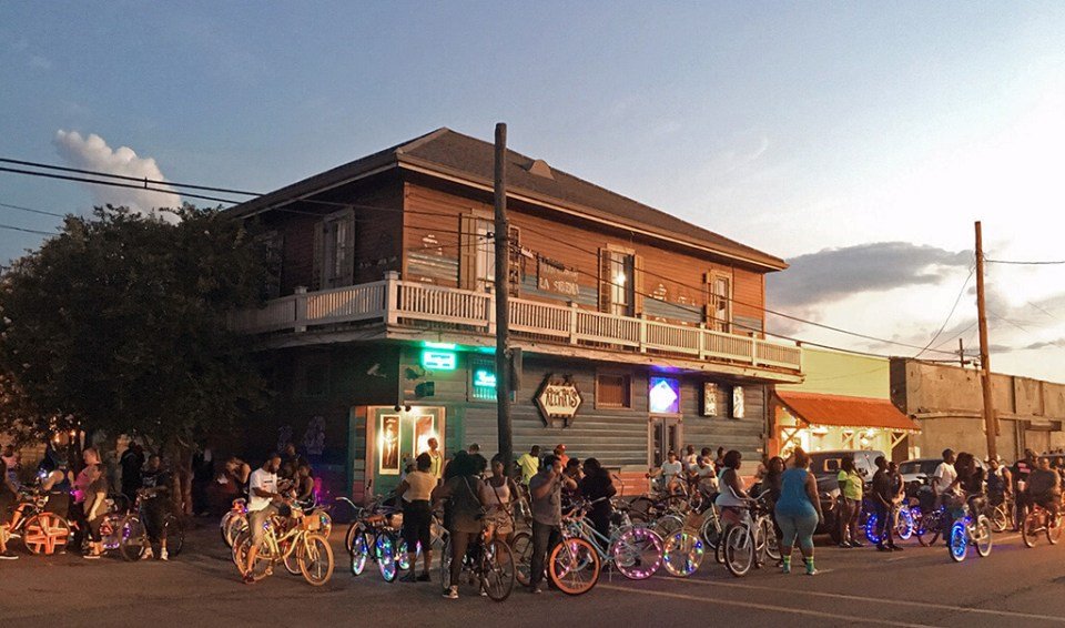new orleans social bike rides