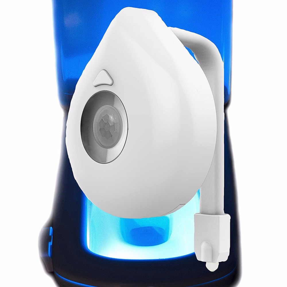 Motion Activated Toilet Night Light with 16 Colors
