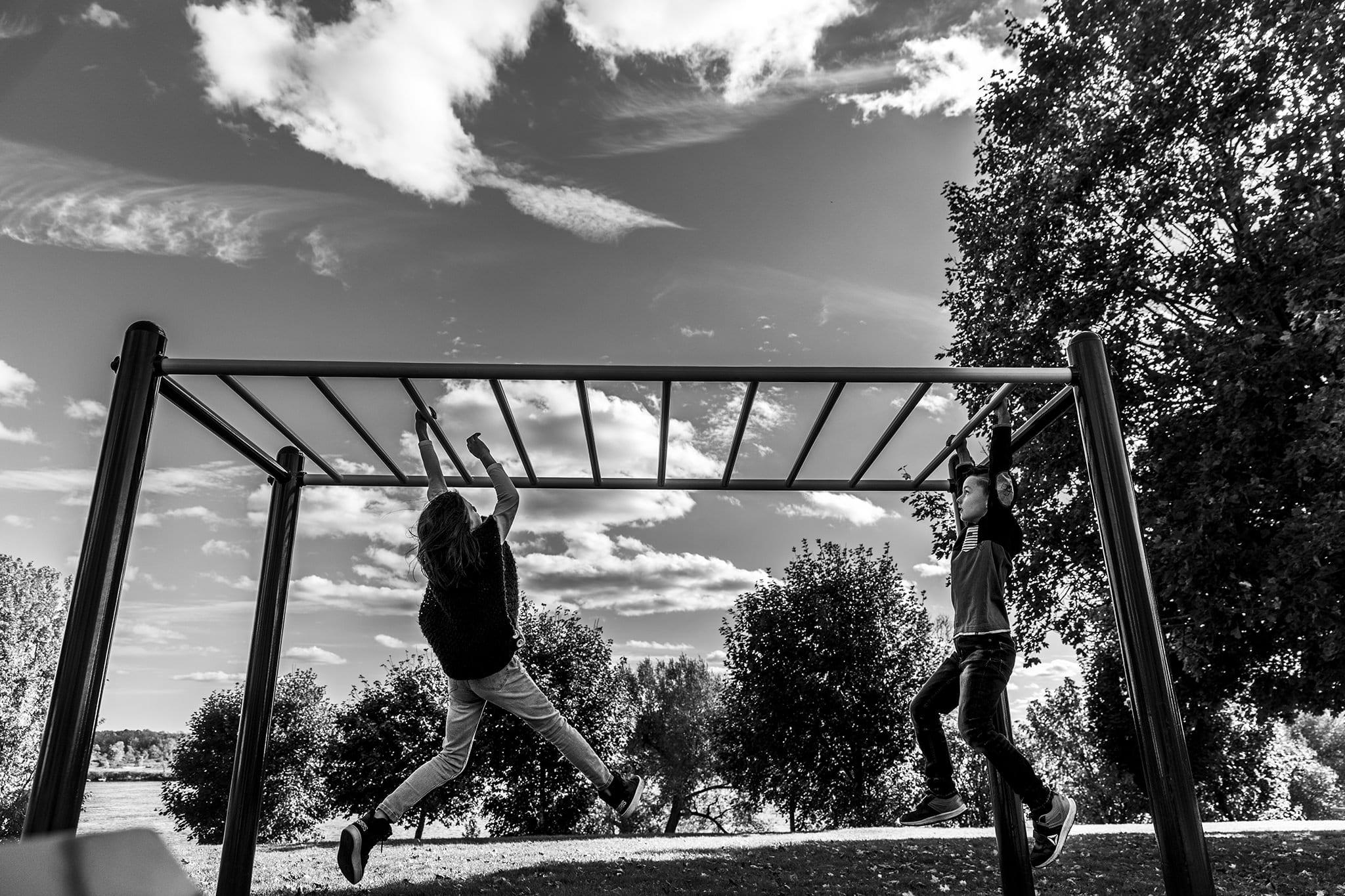 Swinging in cornwall