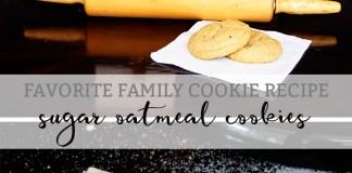 sugar oatmeal cookie recipe mom envy